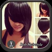 Bob Black Hairstyle APK for Bluestacks