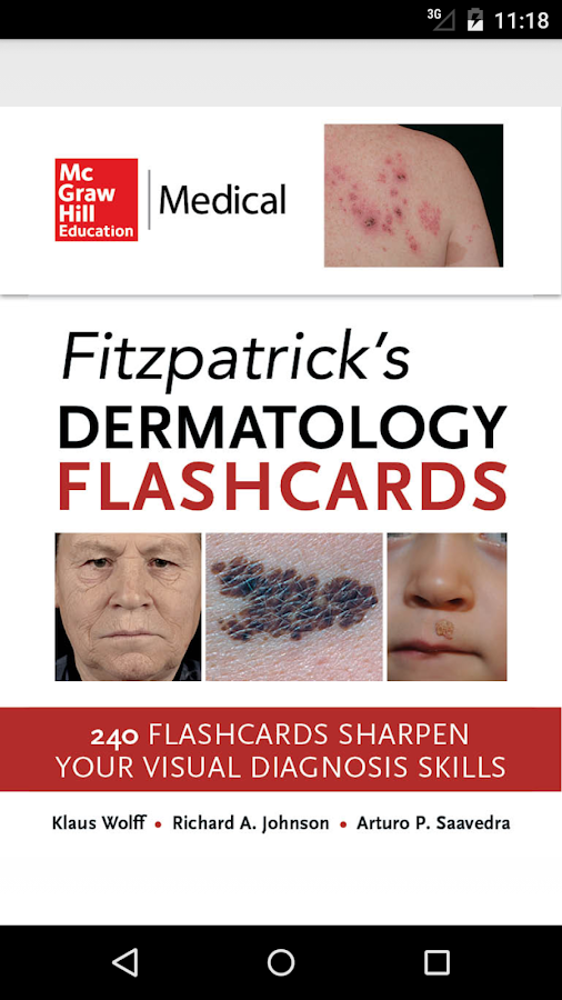 Fitzpatrick's Derm Flash Cards Screenshot 0