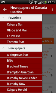 Lastest Newspapers of Canada APK for PC