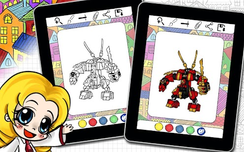 App Ninjego Coloring Book APK For Kindle