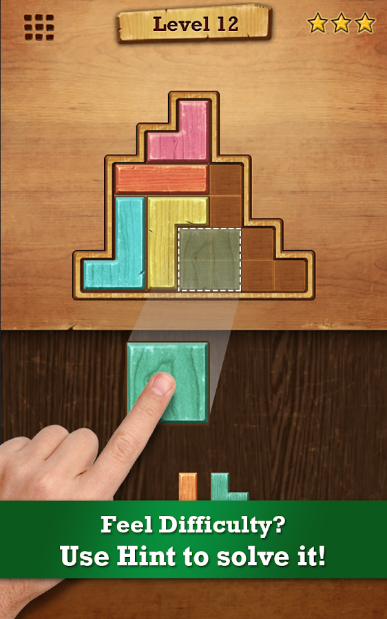 Wood Block Puzzle Screenshot 0