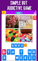 Screenshot of Guess the Word: 4 Pics Quiz