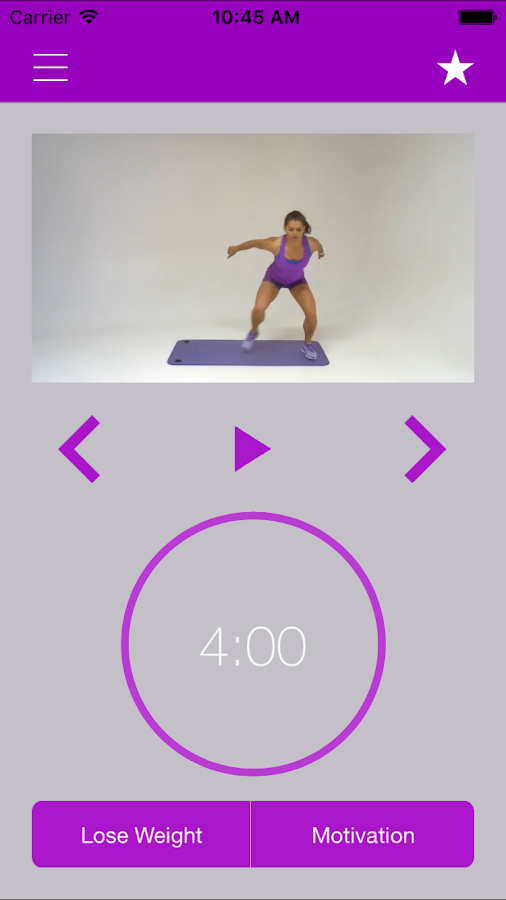 Fat Burning Workout Loss 7 Minute Exercises Screenshot