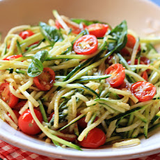 Zucchini Pasta Without The Pasta