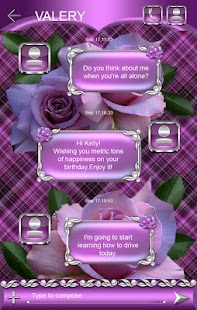 How to get Tender Roses Go SMS Pro theme 3 unlimited apk for android