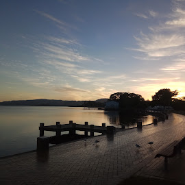 Rotorua Sunrise by Raul Jr. Raquid - Novices Only Landscapes ( #rotorua, #lakefront, #sunrise )