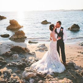 Sea of love by Mandy Christodoulou - Wedding Bride & Groom ( paphos weddings, weddings in cyprus, cyprus photographers, cyprus wedding, cyprus wedding photographers )