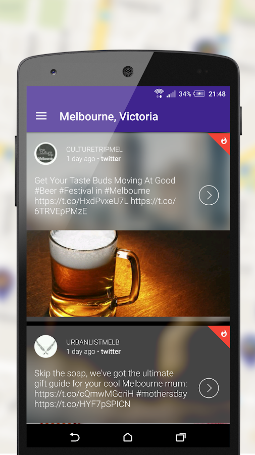 Soscribe: social discovery app- screenshot