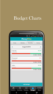 MoneyWise Home Budget Expenses- screenshot thumbnail