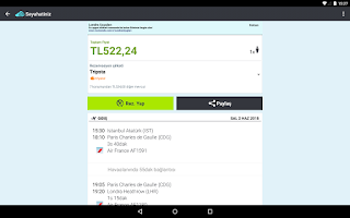 Screenshot of Skyscanner - Tüm Uçuşlar