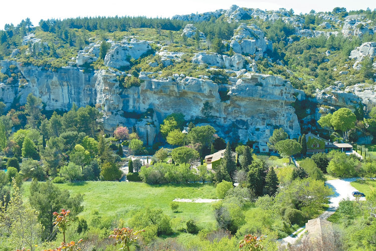 View from Les Baux de Provence