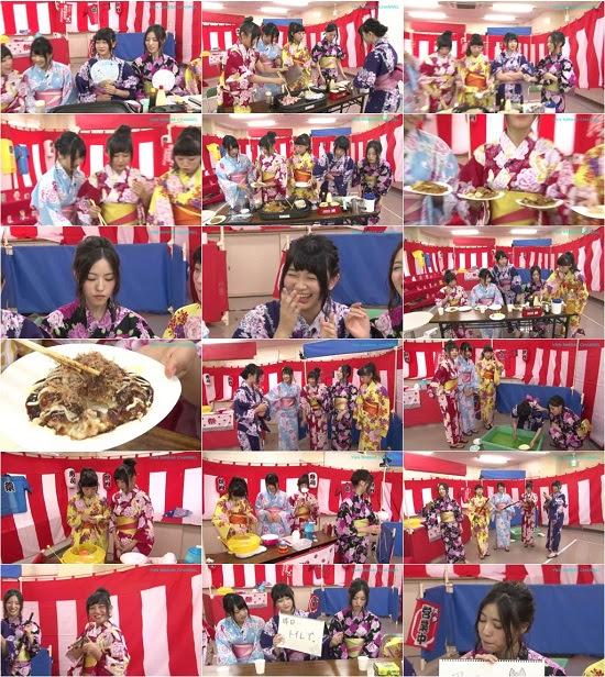 (TV-Variety)(720p) YNN [NMB48チャンネル] 3期BIIだよ!浴衣で夏祭り 150704