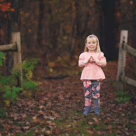 love this by Marissa Frederick - Babies & Children Child Portraits ( girl, fall, outdoors, pink, photography, kid )