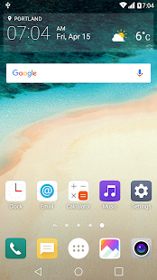 G5 UX 5.0 Theme for LGHome- screenshot thumbnail