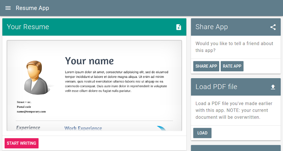 app for resume resume template app college admission resume