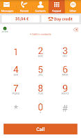 Screenshot of GlooboVoIP: Cheap Calls
