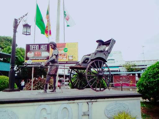 Hand Rickshaw Man