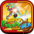 Luffy Pirate Sea Fight