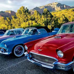 Sedona Car Club by Michael Pruitt - Transportation Automobiles ( sgr, thunderbird, ford )