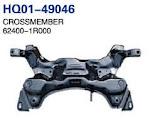 Accent 2011 Crossmember, Cross Member, Rear Cross Member (62400-1R000, 55100-1R050)