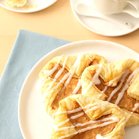 Apple Butter Cream Cheese Danishes