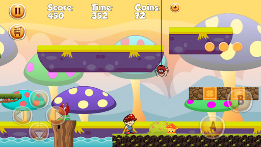 Super Marco World Run 2 - screenshot