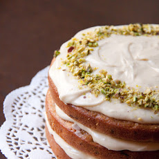 Carrot Cake With Vanilla Bean Icing