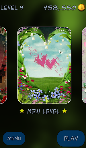 Hidden Mahjong - Crazy Hearts - screenshot