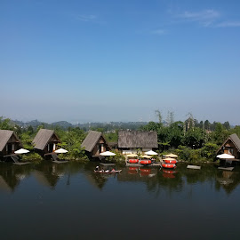Purbasari restaurant @ Dusun Bambu, West Java by Agustina Djafar - Instagram & Mobile Android