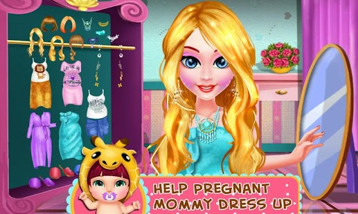 Pregnant Mommy Daily SPA- screenshot