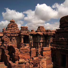 7th century capital of India by Srivenkata Subramanian - Buildings & Architecture Statues & Monuments ( legacy, patadakkal, karnataka, temples, chalukya kings, history, india, architecture,  )