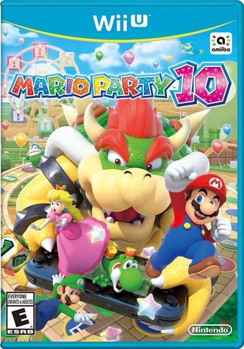 Mario Party 10 - box art