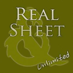 Real Sheet : Pathfinder  DT