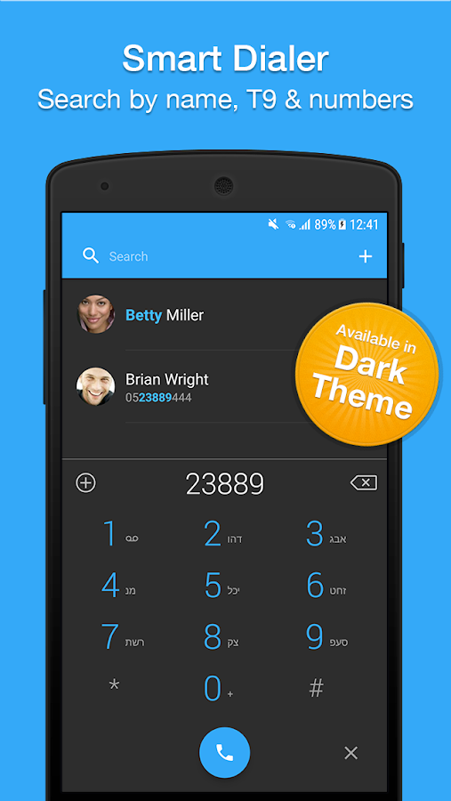 Contacts, Dialer, Phone & Call Block by Simpler Screenshot 3