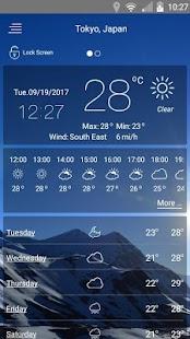 Free weather app pro APK for Windows 8