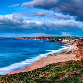 Coastline by Steve Rowe - Digital Art Places
