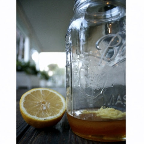 Ginger Lemon Honey Elixir