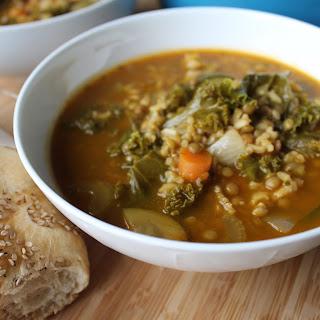 Pumpkin Green Lentil Soup Recipes