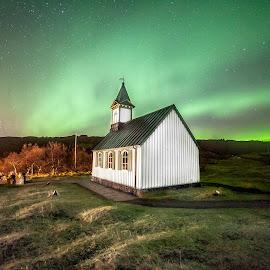 Þingvellir Church by Einar Sveinn Magnússon - Buildings & Architecture Places of Worship