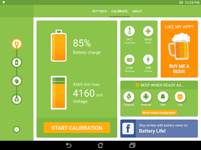 App Battery Calibration 2.1.2 APK for iPhone