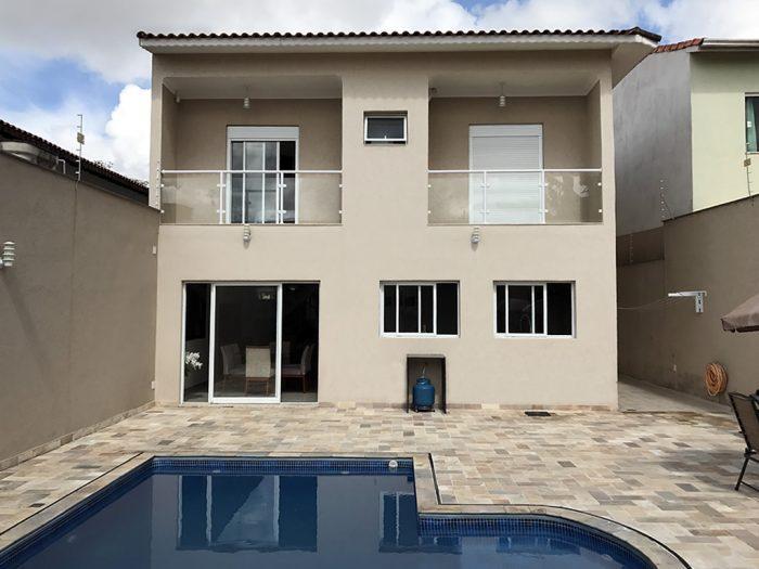 Casa Sobrado Residencial Alto Padrão à Venda, Rua Capistrano de Abreu, Vila Suissa, Mogi das Cruzes - CA0871.