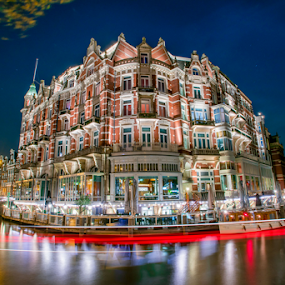 Hotel De Europe by Benjamin Arthur - Buildings & Architecture Office Buildings & Hotels ( capital cities, holland, amsterdam photographer, dutch, nederlandse fotograaf )