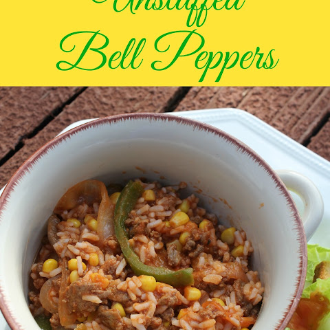 Unstuffed Bell Peppers