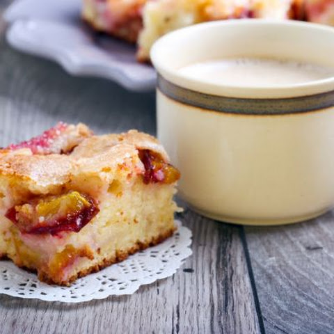 Kid-Friendly Plum Almond Cake