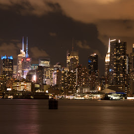 NY City SkylineNY City Skyline by Werner Ennesser - Buildings & Architecture Architectural Detail