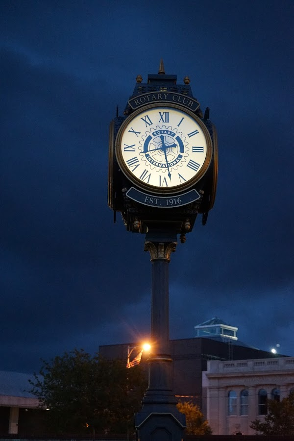 by Charles Ward - City,  Street & Park  Night