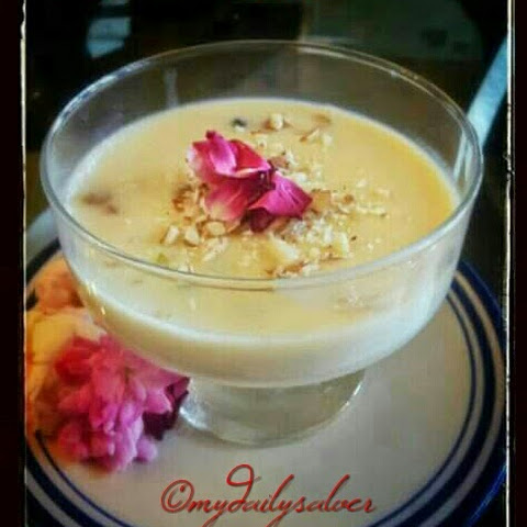 Gulab /Rose Phirni Recipe...