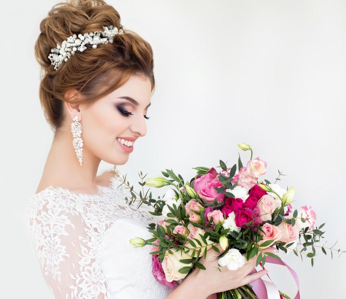 Портфолио причесок для невесты