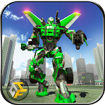 Airplane Robot Hero - City War Survival Icon