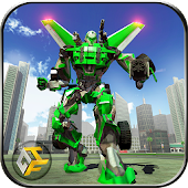 Game Airplane Robot Hero - City War Survival APK for Kindle